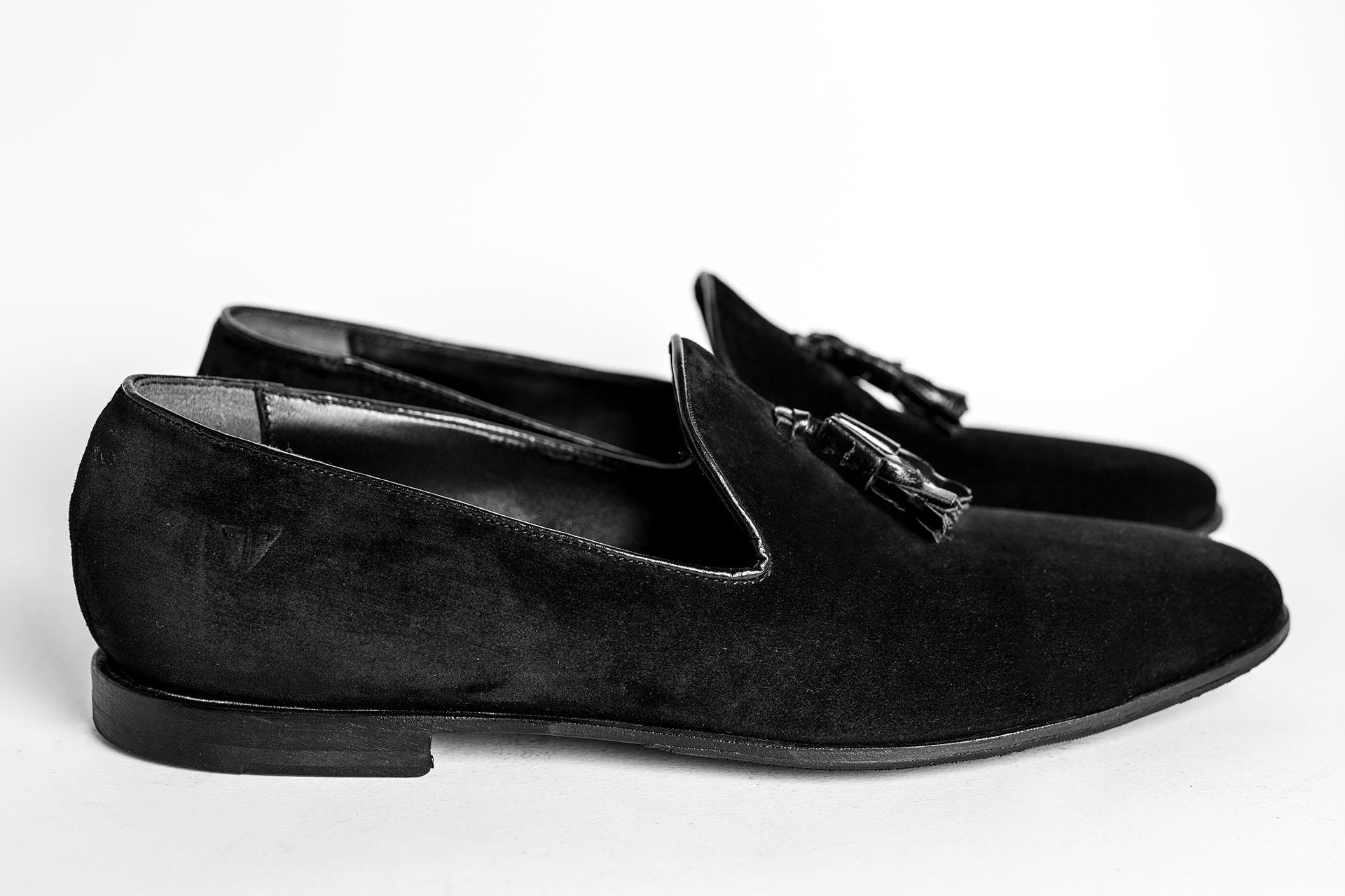 Pantofola-camoscio-nero-A1