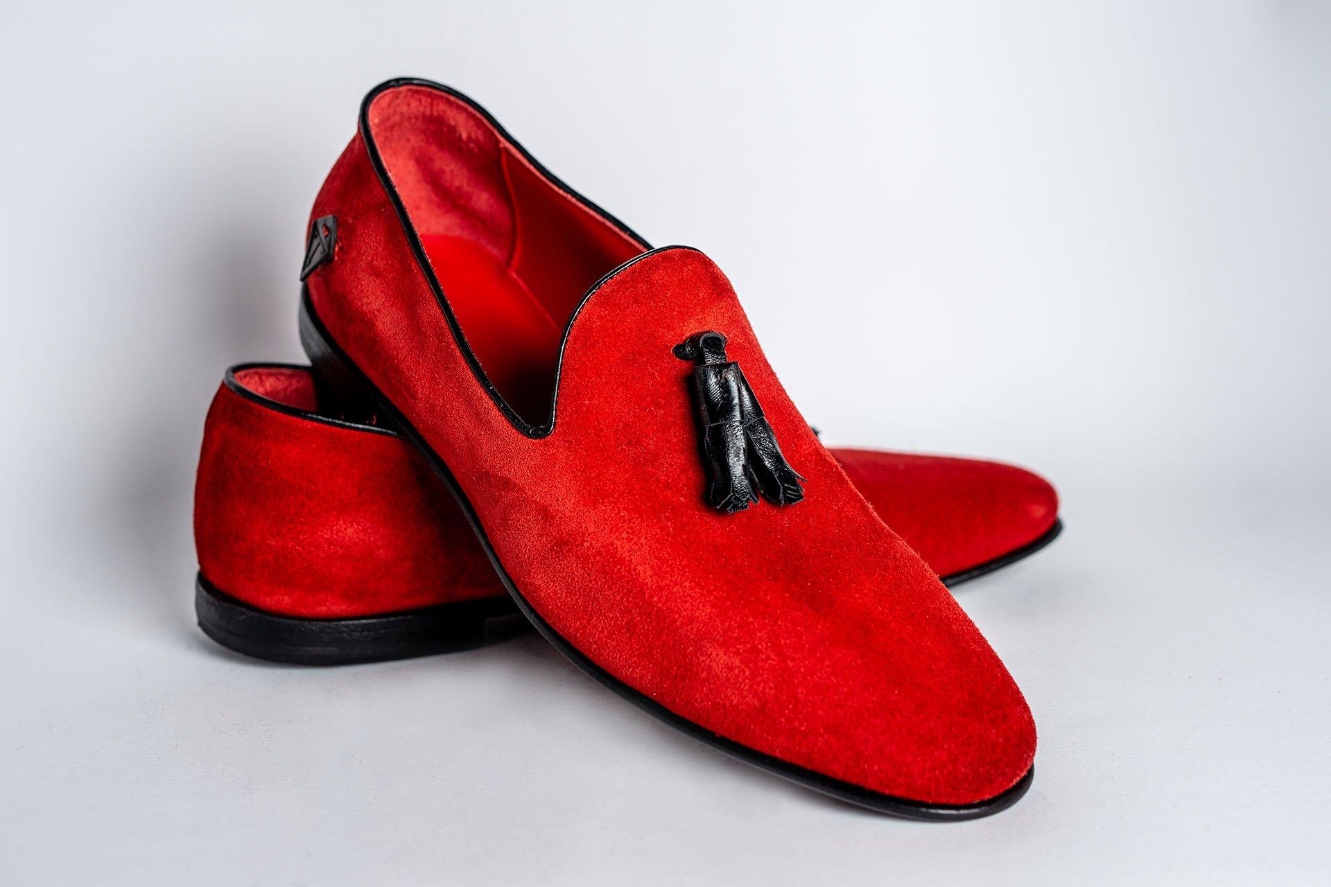 Pantofola-camoscio-rosso-1