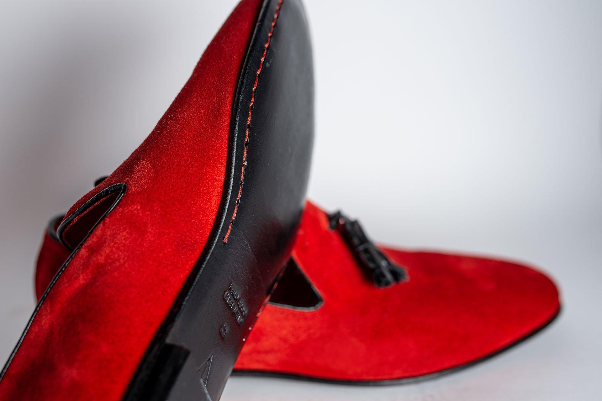 Pantofola-camoscio-rosso-2