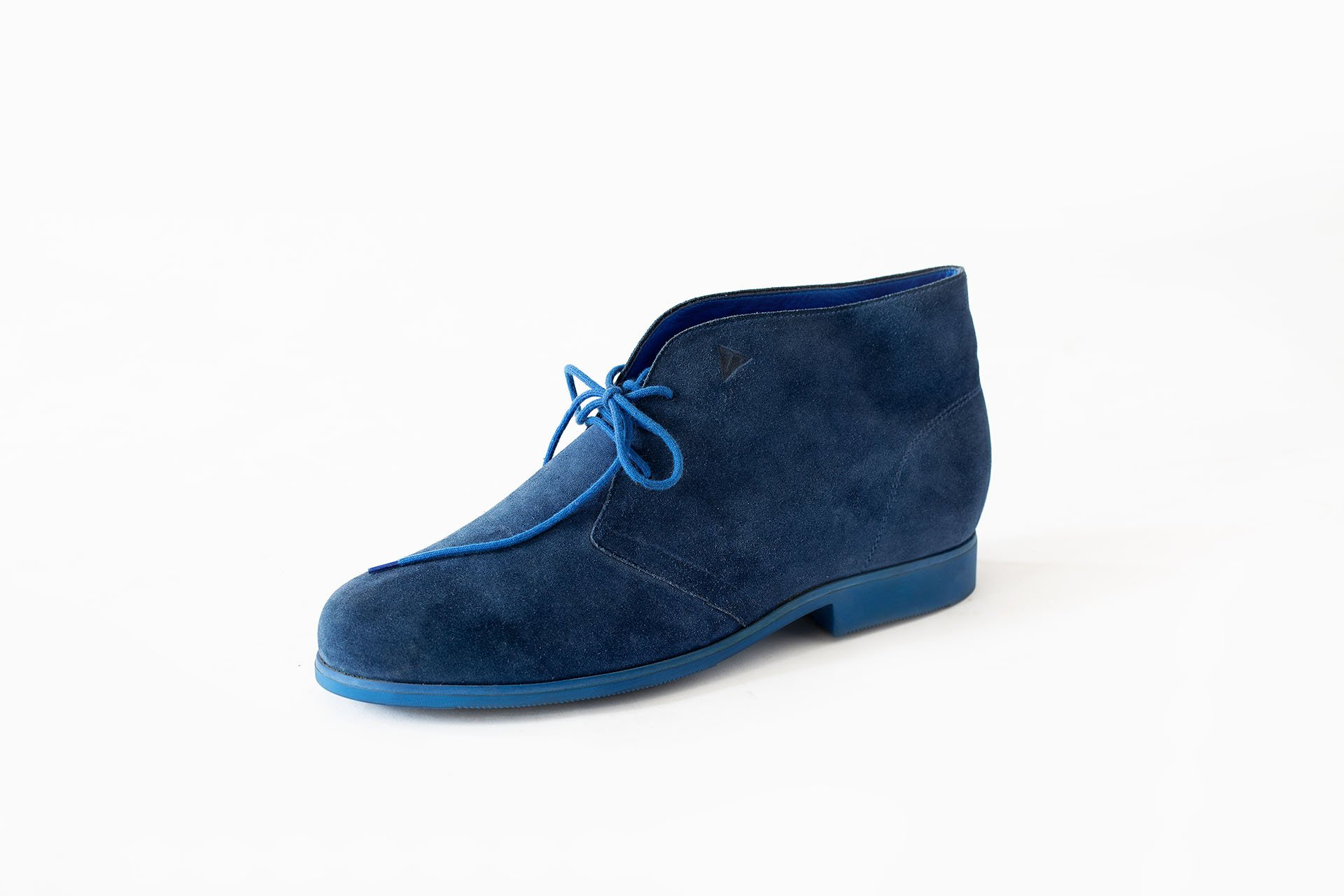Polacchina-camoscio-blu